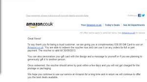 amazon customers warned of fake your