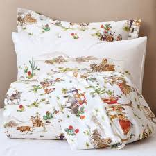 cowboy bedding and the opposite of