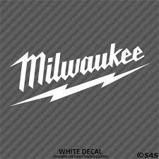 1set Milwaukee Tools Toolbox Decal Sticker Print Die Cut Vinyl Household Work