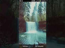 moving waterfall wallpaper google