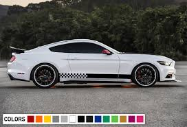 Sport Decal Sticker Vinyl Side Racing Stripes Compatible With Ford Mustang Ultimateprocy