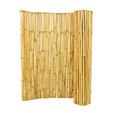 Natural Bamboo Rolled Fence 1 X 3 X 8 Forever Bamboo