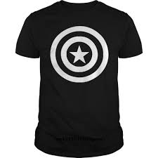 Gildan Funny T Shirt Capitan America Sticker Vinyl Decal T Shirt Tshirt Men Tee T Shirts Aliexpress