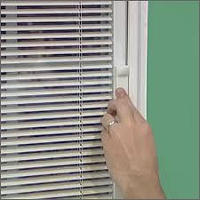 popular sliding patio door with blind