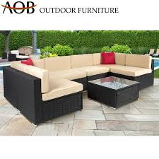 china wicker rattan outdoor furniture