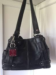 black leather hobo bag shoulder purse