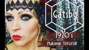 gatsby glam 1920 s makeup tutorial