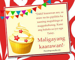 happy birthday messages in tagalog wordings and messages happy