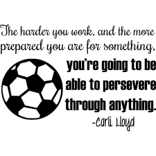 Vinyl Wall Decal Carli Lloyd Usa Soccer Vinyl Wall Decal World Cup Quote 20 X14 Cl1 Walmart Com Walmart Com