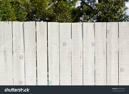 Old Fashioned Whitewashed Board Fence Ready Stock Photo Edit Now 84720040