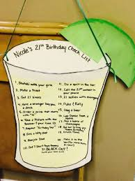 21st Birthday Check List 21stbirthdaysigns Regalos Fiesta Juegos