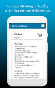 English to Tagalog Dictionary ...