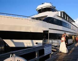 dinner cruise reception weddings on a