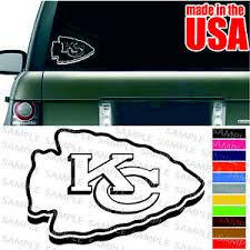 Kansas City Kc Chiefs Nfl Decal American Football Cool Car Window Color Sticker Ebay
