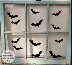 Bat Halloween Decal Halloween Sticker Halloween Window Etsy