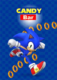 Sonic Candy Bar Personalizado Imprimible 200 00 En Mercado Libre