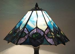 free stained glass lamp patterns