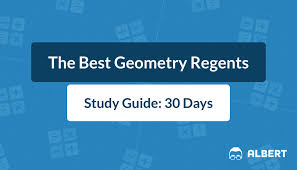 the best geometry regents study guide