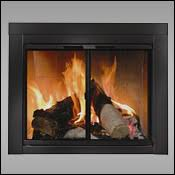 glass fireplace doors woodlanddirect com