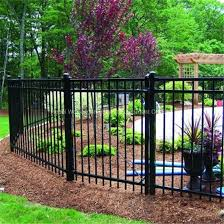 China Metal Fence Wrought Iron Zinc Steel Fence Panels China Fence Steel Fence