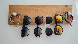 diy sunglasses organizers and holders