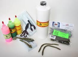 soft plastic fishing lures