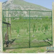 6 Ft X 8 Ft Deer Gate In Green Gates Accessories Powder River Inc Coastal Country