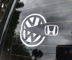 Product Vw Pacman Sticker Decal Volkswagen Mk2 Mk1 Mk3 Mk5 Mk4 Mk6 Mk7 Gti Jetta Golf