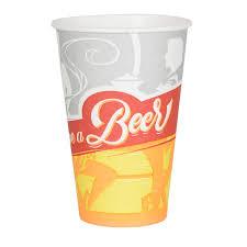 12 gobelets à bière en carton l