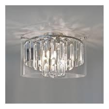 crystal bathroom ceiling light double