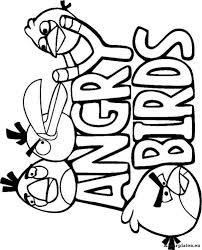 Angry Birds Kleurplaten Kleurplaten Eu