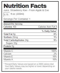 strawberry kiwi 100 juice 6 75 oz