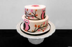 Tortas Y Dulces Con Buhos Y Lechuzas Manualidades Mamaflor
