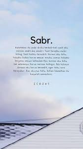 pin by shiro on positivity sabar quotes reminder quotes