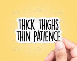Thick Stickers Etsy