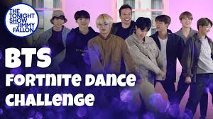 Watch: BTS and Jimmy Fallon do the Fortnite Dance Challenge on ...