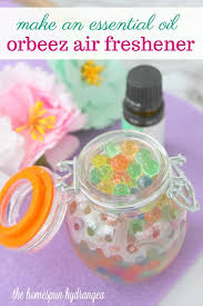diy essential oil and orbeez air