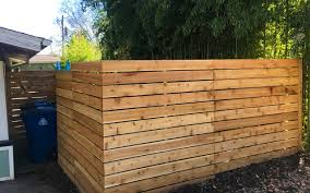 Austin Horizontal Wood Privacy Fence East Side Fence