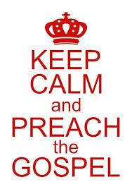 Decal Sticker Gospel Keep Calm Preach Christian Pastor Evangelism Bible Jesus Faith Decal Print Decals Laptop Decal