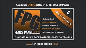 Home Fence Panel Grips