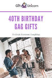 31 fun 40th birthday gift ideas to