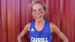 Abby Green (FW Carroll) After Winning Marion Invite in 17:46 - YouTube