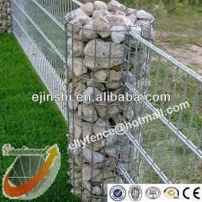 35x120cm Hot Dipped Galvanized Garden Gabion Pillars View Garden Diy Garden Projects Rock Fence Backyard Projects
