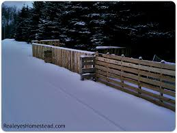 How To Build A Pallet Fence Realeyes Permaculture Homestead