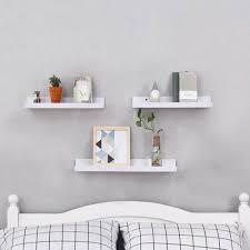 floating shelves l shaped wall shelf