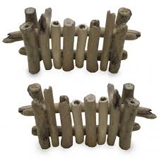 Papoose Woodland Fences 4 Piece Set