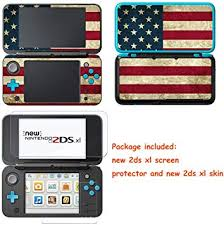 Amazon Com Easycool Vinyl Cover Decals Skin Sticker For Nintendo New 2ds Xl Ll Nintendo New 2ds Xl Screen Protector Video Games