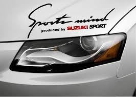 Sports Mind Produced By Suzuki Sport Sx4 Xl7 Vitara Decal Sticker Emblem Logo B Ebay Sports Vinyl Decals Sports Decals Emblem Logo