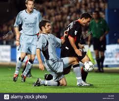 Aaron Hughes Fulham v Newcastle Stock Photo - Alamy