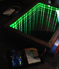 forgelock build cool diy infinity mirror